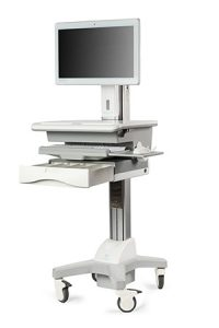 medical carts and wall mounts